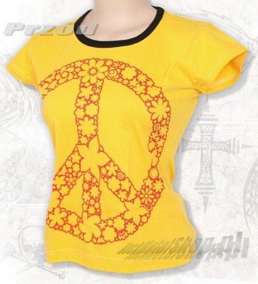 bluzka damska PACYFKA żółta