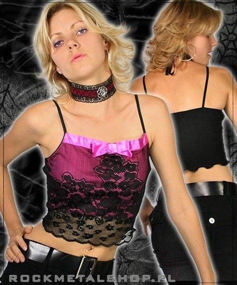 bluzka damska PINK & BLACK FUSION