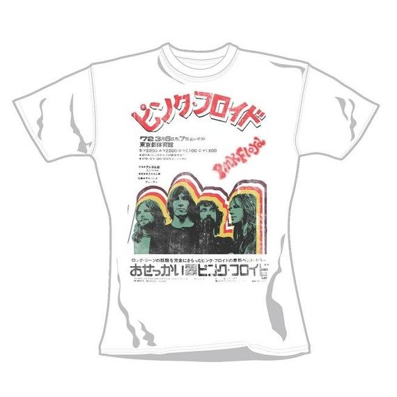 bluzka damska PINK FLOYD - JAPANESE