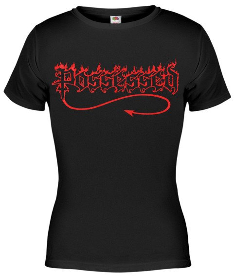 bluzka damska POSSESSED - RED LOGO