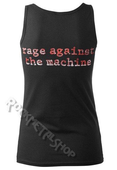 bluzka damska RAGE AGAINST THE MACHINE - MOLOTOV FLAG, na ramiączkach