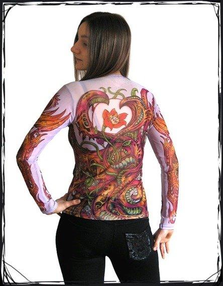 bluzka damska RÓŻA JASNA