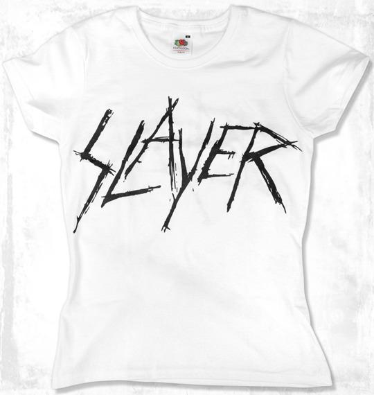 bluzka damska SLAYER biała