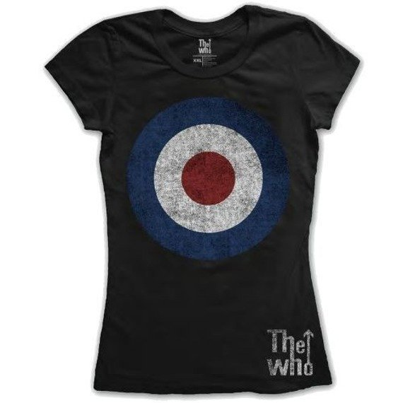 bluzka damska THE WHO - TARGET DISTRESSED
