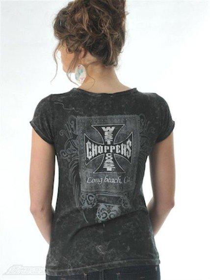 bluzka damska WEST COAST CHOPPERS -  CROSS PATCH vintage