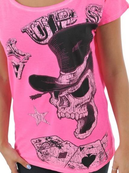 bluzka damska WEST COAST CHOPPERS - PAY UP SUCKER  pink