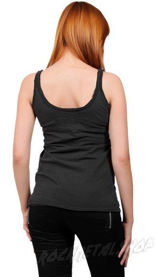 bluzka na ramiączka ROLLING STONE - CUBA DIAMANTE szara