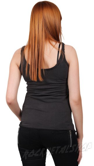 bluzka na ramiączka ROLLING STONE - WILD HORSES szara