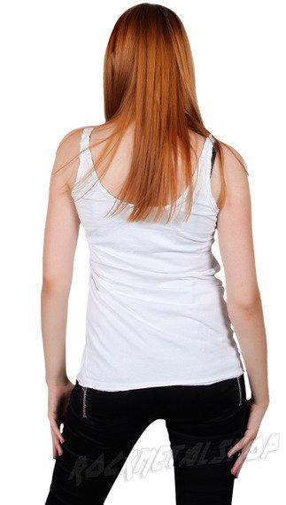 bluzka na ramiączka SLASH biała
