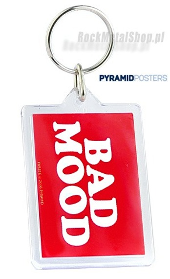 brelok do kluczy GOOD MOOD / BAD MOOD (DOUBLE SIDED) (PK5416)