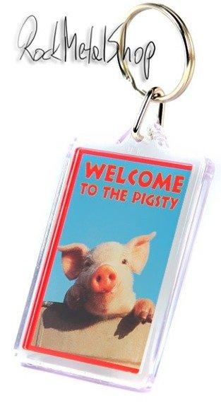 brelok do kluczy WILDLIFE - WELCOME TO THE PIGSTY PK1079