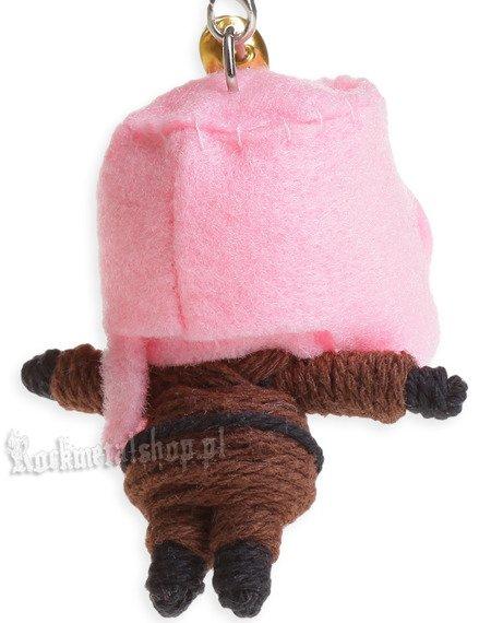 brelok laleczka VOODOO DOLL - COOL BOY pink