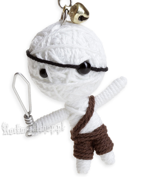 brelok laleczka VOODOO DOLL - LITTLE PIRATE brown