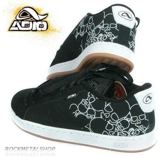 buty  ADIO-EUGENE RE (BLACK/SKULL/GUM)'09  ADIO-036