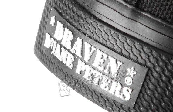 buty DRAVEN - CANVAS LOW black/black