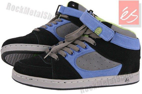buty ES - ACCEL HI (BLACK/BLUE/GREY)