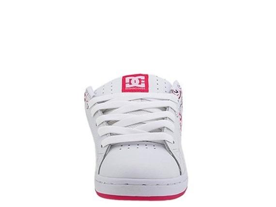 buty damskie DC- PIXIE 3 (WHITE/CRAZYPINK/WHITE)