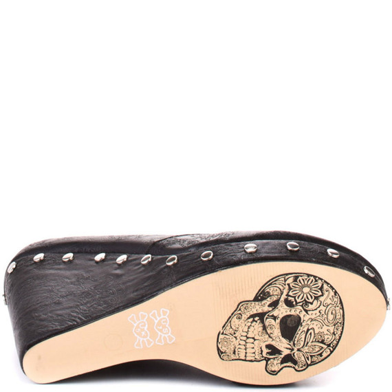 buty na koturnie IRON FIST - MANSLAYER WEDGE (BLACK)