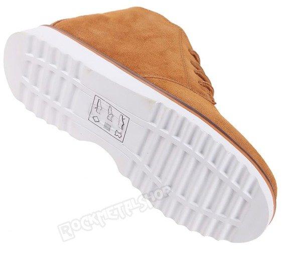 buty zamszowe NEW AGE - POMARAŃCZOWE / ORANGE (WS1272)