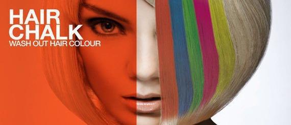 cień/kreda koloryzujaca do włosów MAGENTA