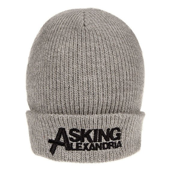 czapka ASKING ALEXANDRIA  - LOGO GREY
