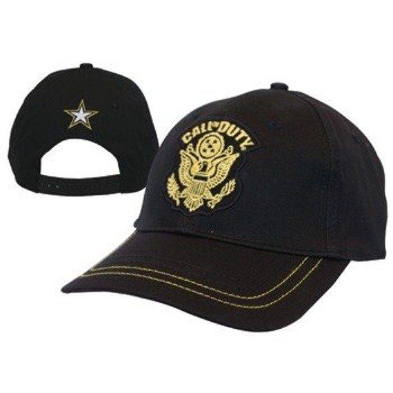 czapka CALL OF DUTY - Black Adj Cap w/ Yellow Logo