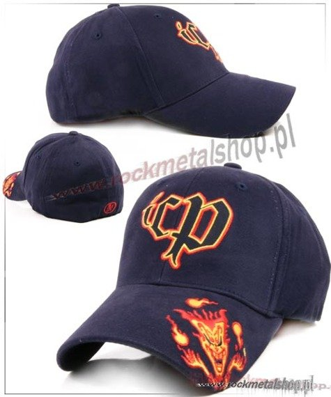 czapka INSANE CLOWN POSSE - LOGO NAVY FLEX CAP