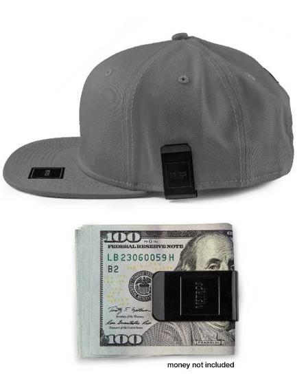czapka MASTERDIS - MONEYCLIP SNAPBACK CAP ht. charcoal