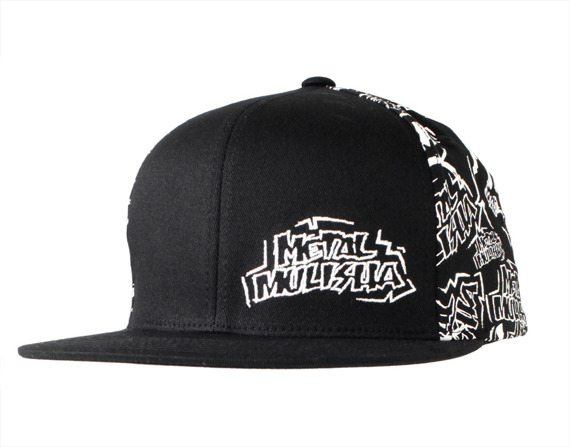czapka METAL MULISHA - CRACKED black