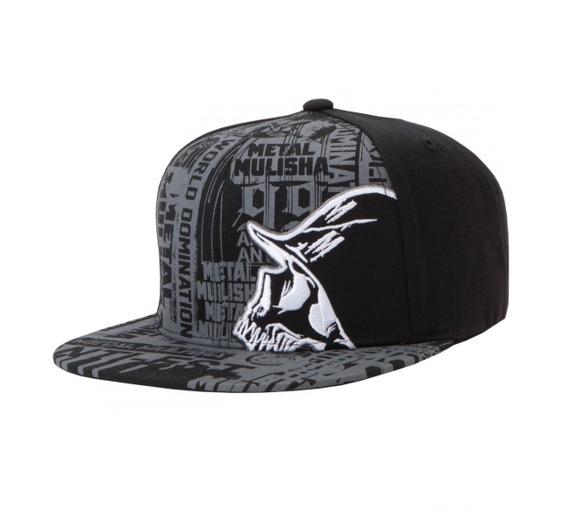 czapka METAL MULISHA - SESSION black/grey