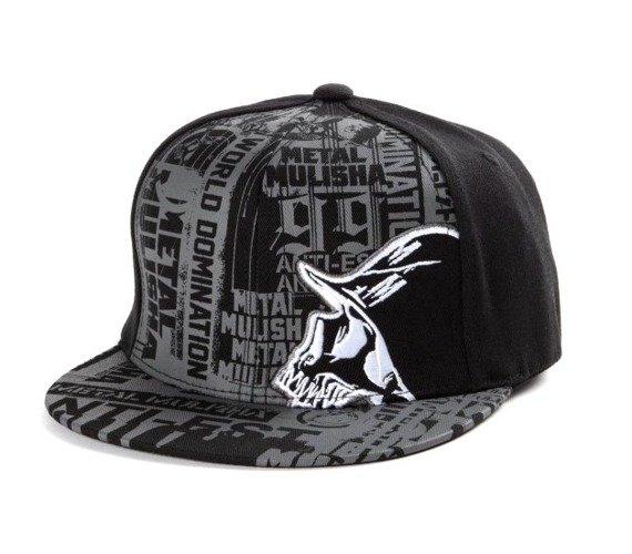 czapka METAL MULISHA - SESSION gray/black