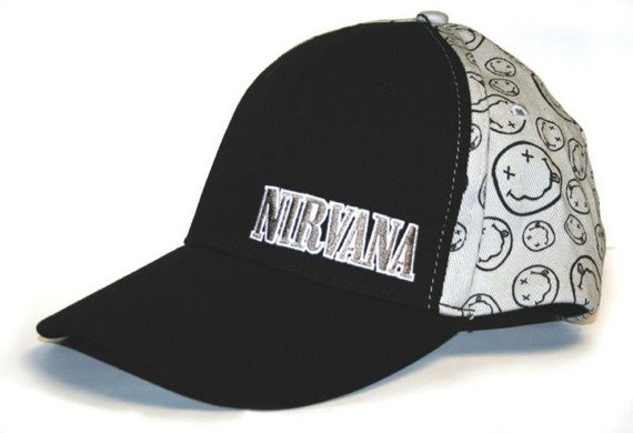 czapka NIRVANA - SMILE FITTED