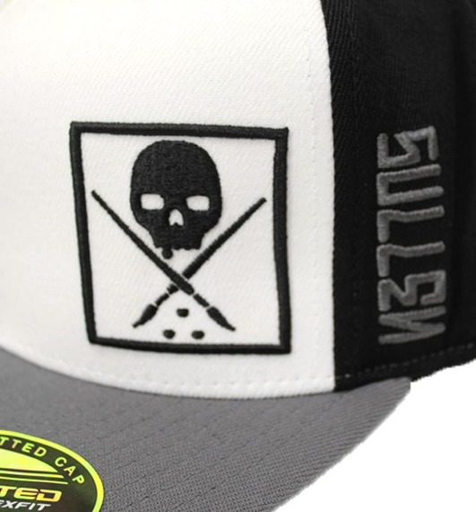 czapka SULLEN - WHIP white/grey