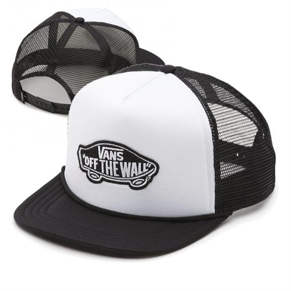 czapka VANS - CLASSIC PATCH TRUCK WHITE BLACK