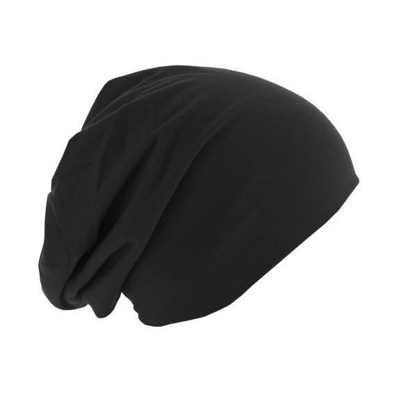 czapka dwustronna MASTERDIS - JERSEY BEANIE REVERSIBLE black/red
