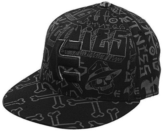 czapka z daszkiem ETNIES - CHOLLO (BLACK) 09'