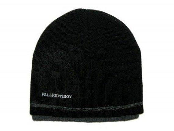 czapka zimowa FALL OUT BOY - LOGO (KC106746FOB)
