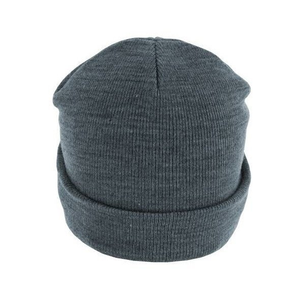 czapka zimowa MASTERDIS - BEANIE BASIC FLAP ht.indigo