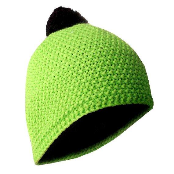 czapka zimowa MASTERDIS - BEANIE POLAR lime/black