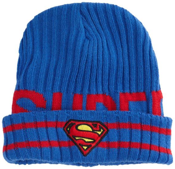 czapka zimowa SUPERMAN - LOGO