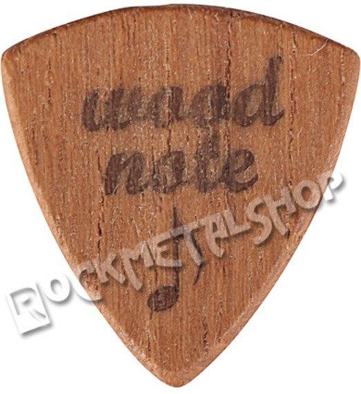 drewniana kostka do gitary WOODNOTE Jazz Shield - TEAK