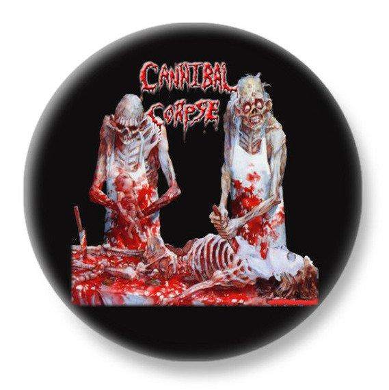 duży kapsel CANNIBAL CORPSE - BUTCHERED AT BIRTH