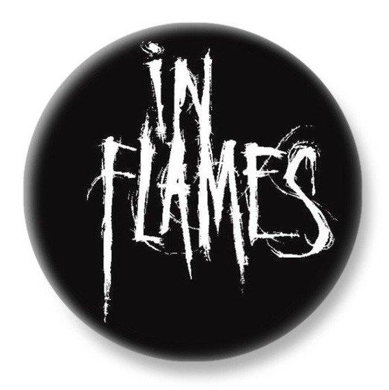 duży kapsel IN FLAMES - LOGO