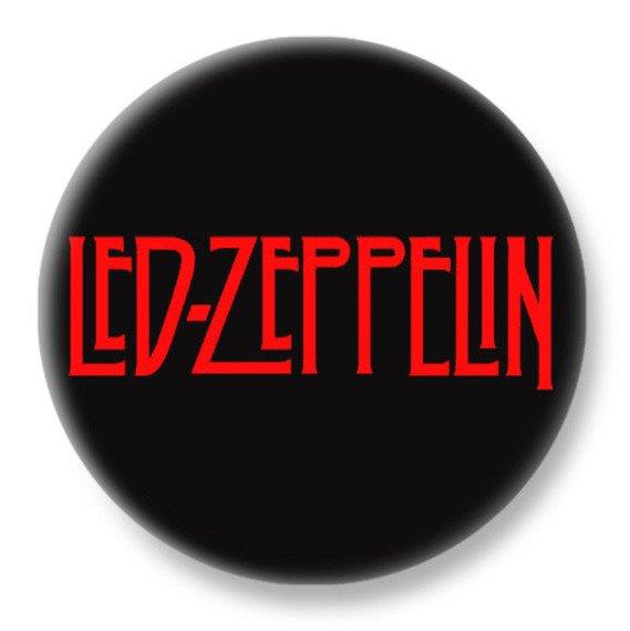 duży kapsel LED ZEPPELIN - LOGO