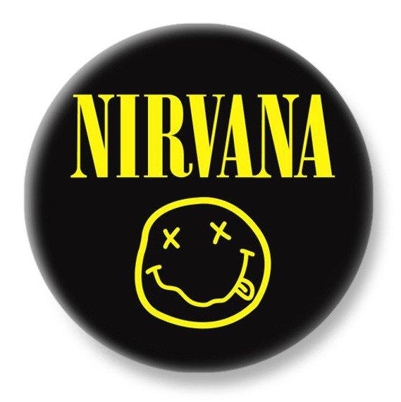 duży kapsel NIRVANA - SMILEY