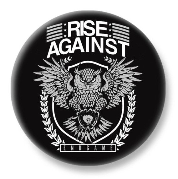 duży kapsel RISE AGAINST - ENDGAME
