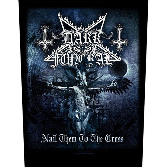 ekran DARK FUNERAL - NAIL THEM TO THE CROSS