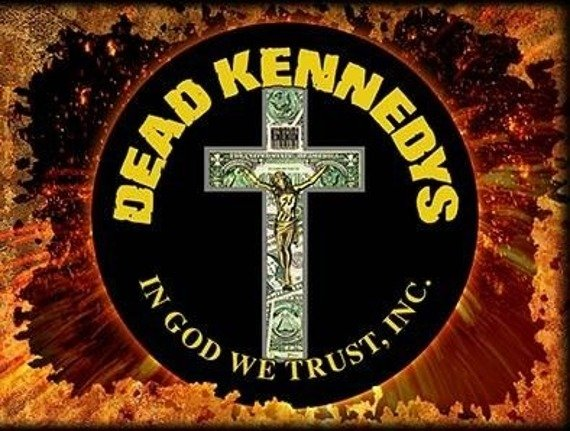 ekran DEAD KENNEDYS - IN GOD WE TRUST