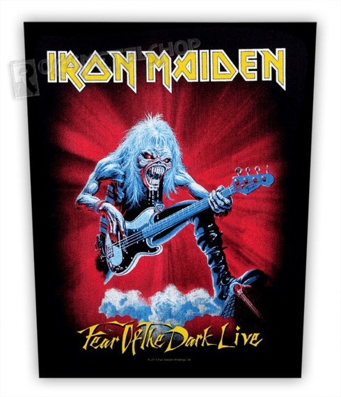 ekran IRON MAIDEN -  FEAR OF THE DARK LIVE