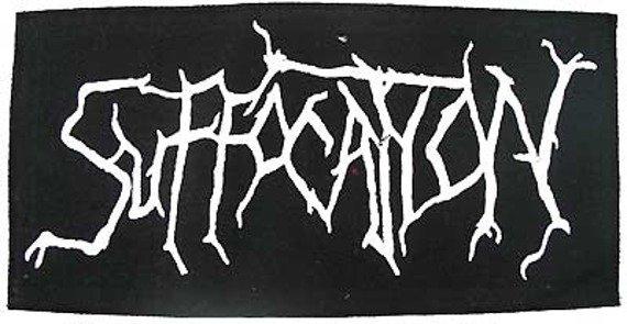 ekran SUFFOCATION (logo białe)